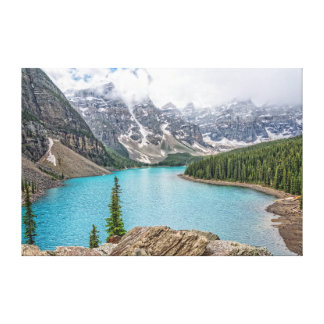 Moraine Lake after the Storm Canvas Print