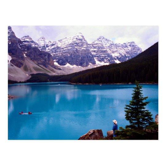 Moraine Lake, Alberta, Canada Postcard