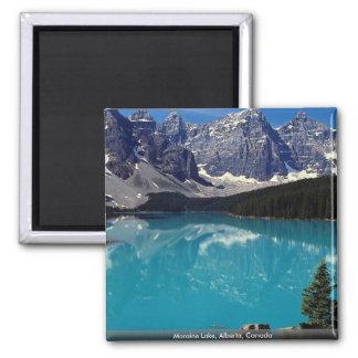 Moraine Lake Alberta Canada Refrigerator Magnet