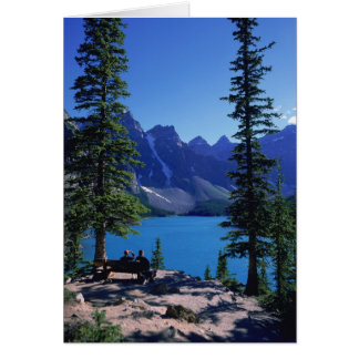 Moraine Lake, Banff, Alberta, Canada Card
