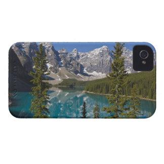 Moraine Lake, Canadian Rockies, Alberta, Canada 2 iPhone 4 Case