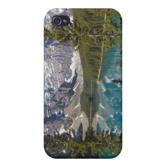 Moraine Lake, Canadian Rockies, Alberta, Canada 2 iPhone 4 Cover