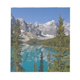 Moraine Lake, Canadian Rockies, Alberta, Canada 2 Notepad