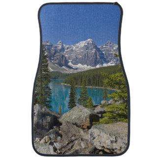 Moraine Lake, Canadian Rockies, Alberta, Canada Car Mat