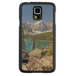 Moraine Lake, Canadian Rockies, Alberta, Canada Carved Maple Galaxy S5 Case