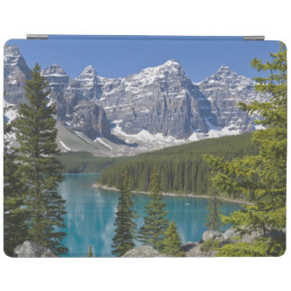 Moraine Lake, Canadian Rockies, Alberta, Canada iPad Cover