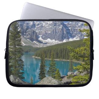 Moraine Lake, Canadian Rockies, Alberta, Canada Laptop Sleeve