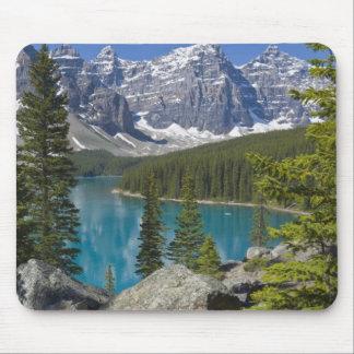 Moraine Lake, Canadian Rockies, Alberta, Canada Mouse Pads