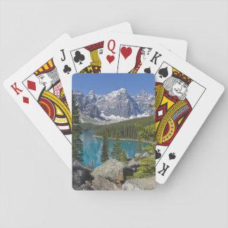 Moraine Lake, Canadian Rockies, Alberta, Canada Playing Cards