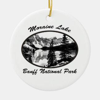 Moraine Lake Christmas Ornament