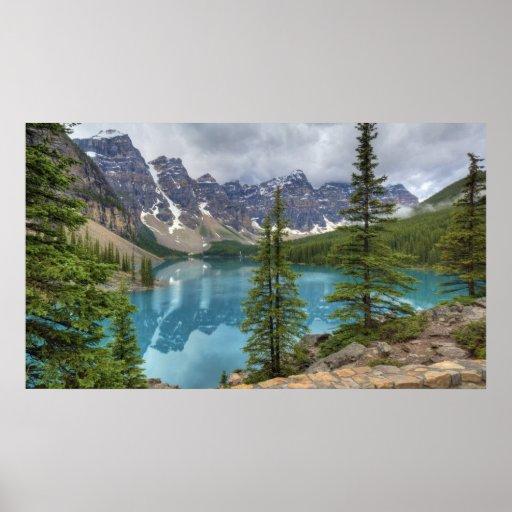 Moraine Lake Pano Poster