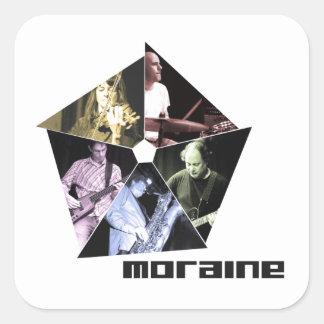 Moraine square sticker