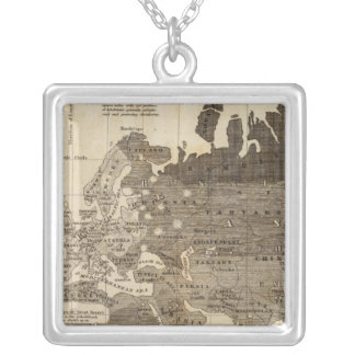 Moral, political World Silver Plated Necklace