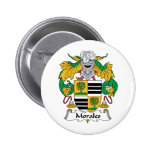 Morales Family Crest Buttons