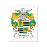 Morales Family Crest Canvas Print