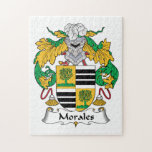 Morales Family Crest Jigsaw Puzzle