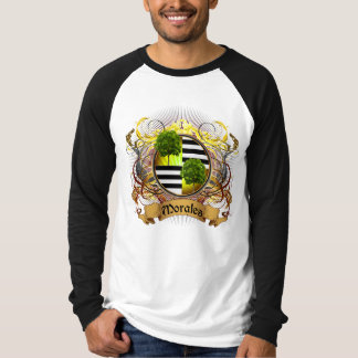 Morales Family Crest Tee Shirts