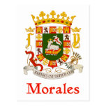 Morales Puerto Rico Shield Postcard