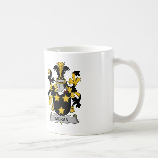 Moran Family Crest Coffee Mug