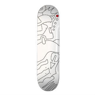Moratzee Skateboard 08 sketch version