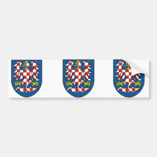 Moravia, Czech Bumper Sticker