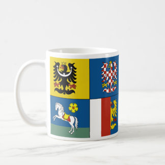 Moravian Silesian Region, Czech Coffee Mug