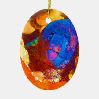 Moray Eel Christmas Ornament
