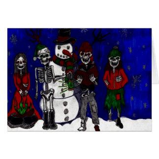 Morbid Merry Christmas Card