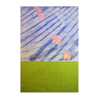 Morceaux de Temps n1 du 18 oct 2015 Panel Wall Art