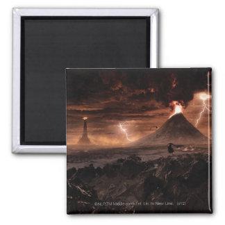 Mordor Lightning Storm Magnet