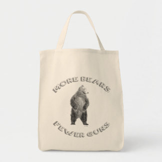More Bears; Fewer Guns Tote