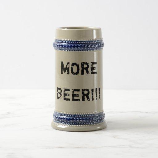 MORE, BEER!!! MUG