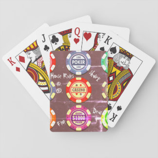 More Chips Please Playing Cards
