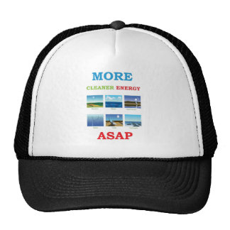 more cleaner energy asap mesh hat