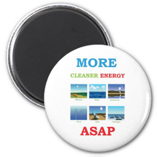 more cleaner energy asap 6 cm round magnet