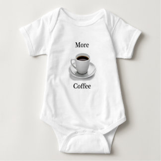 More coffee baby bodysuit