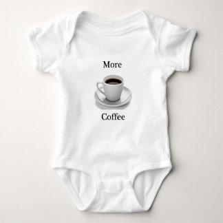 More coffee baby bodysuit