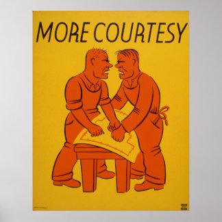 More Courtesy Vintage WPA Poster