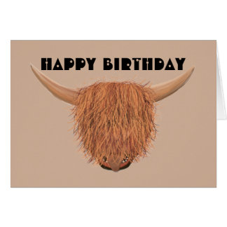 More Cowbell Birthday Card