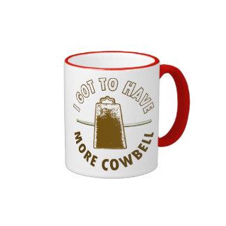 MORE COWBELL -funny/humor/music/rock music/drummer Mug