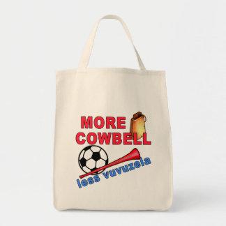 More Cowbell Less Vuvuzela Tshirts, Mugs Bags