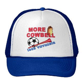 More Cowbell Less Vuvuzela Tshirts, Mugs Trucker Hat