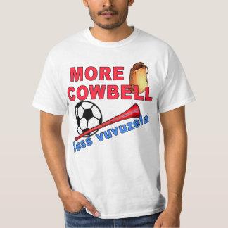 More Cowbell Less Vuvuzela Tshirts, Mugs Tshirt