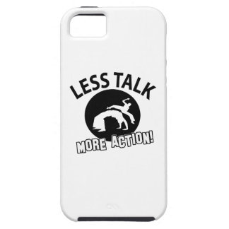More Curling less talk iPhone 5 Cover