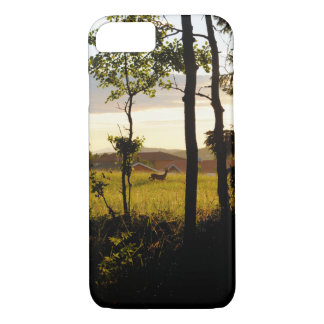 more deer into beautiful nature iPhone 7 case