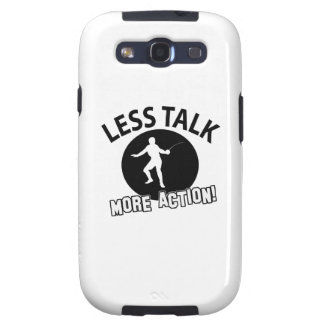 More Fencing less talk Galaxy SIII Case