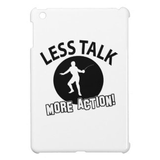 More Fencing less talk iPad Mini Cover