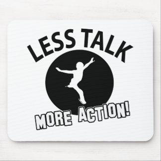 More Figure Skating less talk Mousepads