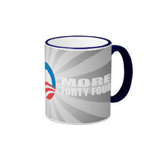 MORE FORTY FOUR COFFEE MUGS