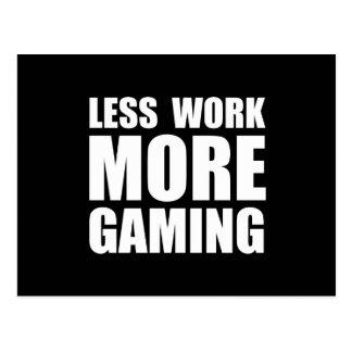 More Gaming Postcard